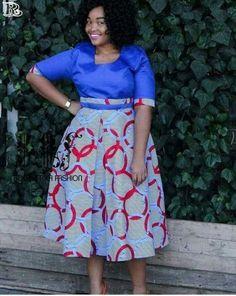 Shweshwe Fabric Fashion South Africa 2020 11