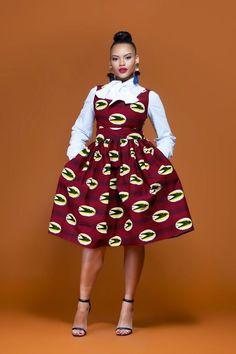 Shweshwe Fabric Fashion South Africa 2020 7