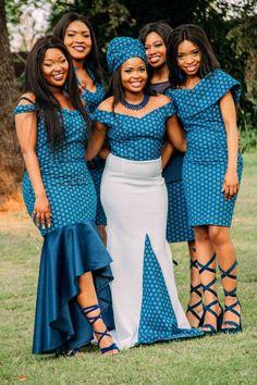 Shweshwe Fabric Fashion South Africa 2020 13