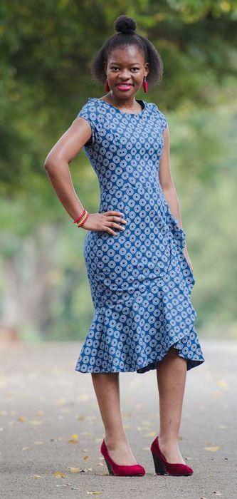 Shweshwe Fabric Fashion South Africa 2020 4