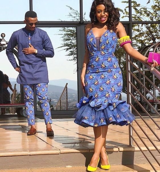 Africa stylish shweshwe 2020 dresses, just for you 1