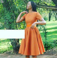 Shweshwe Fabric Fashion South Africa 2020 6
