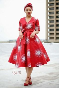 Shweshwe Fabric Fashion South Africa 2020 9