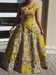 Shweshwe Fabric Fashion South Africa 2020 8