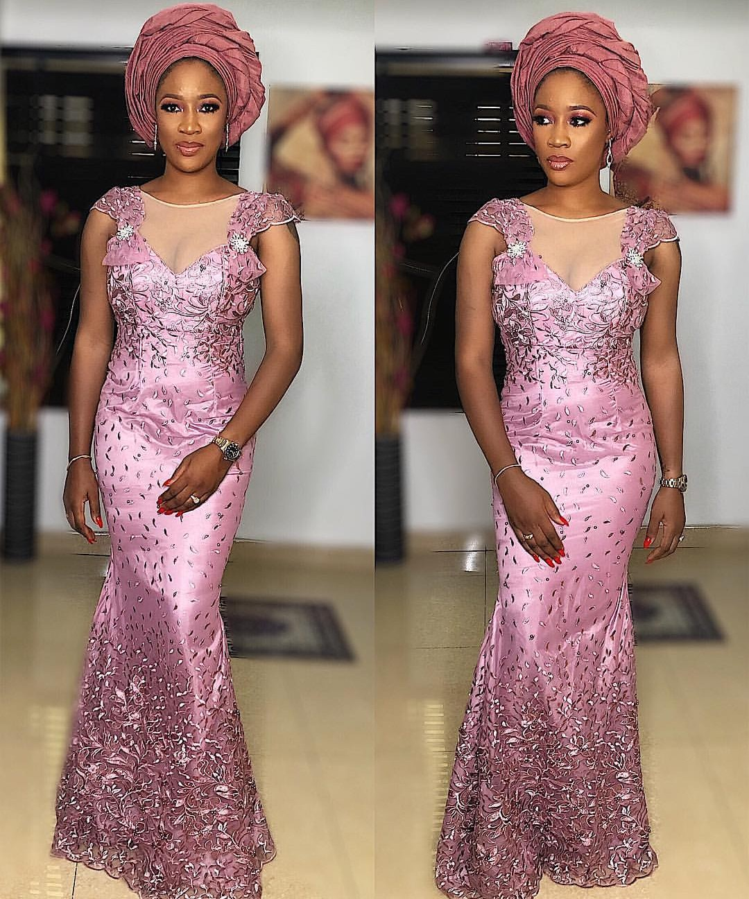 2020 ASO EBI FASHION FOR WOMEN WHO WANTS TO BE MORE ELEGANANT 2
