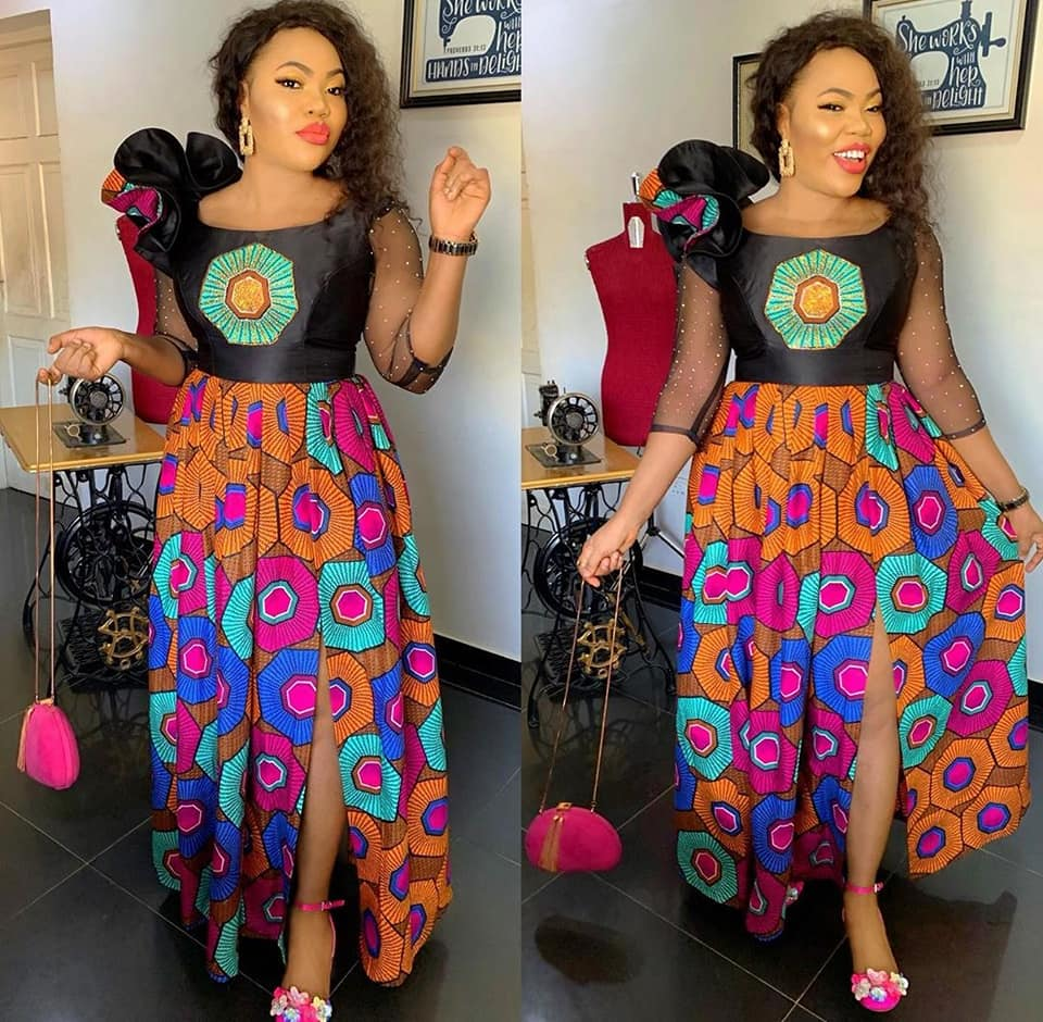 2020 ANKARA KITENGE DESIGNS OUTSTANDING YOU FOR YOUR OCCASION. 3