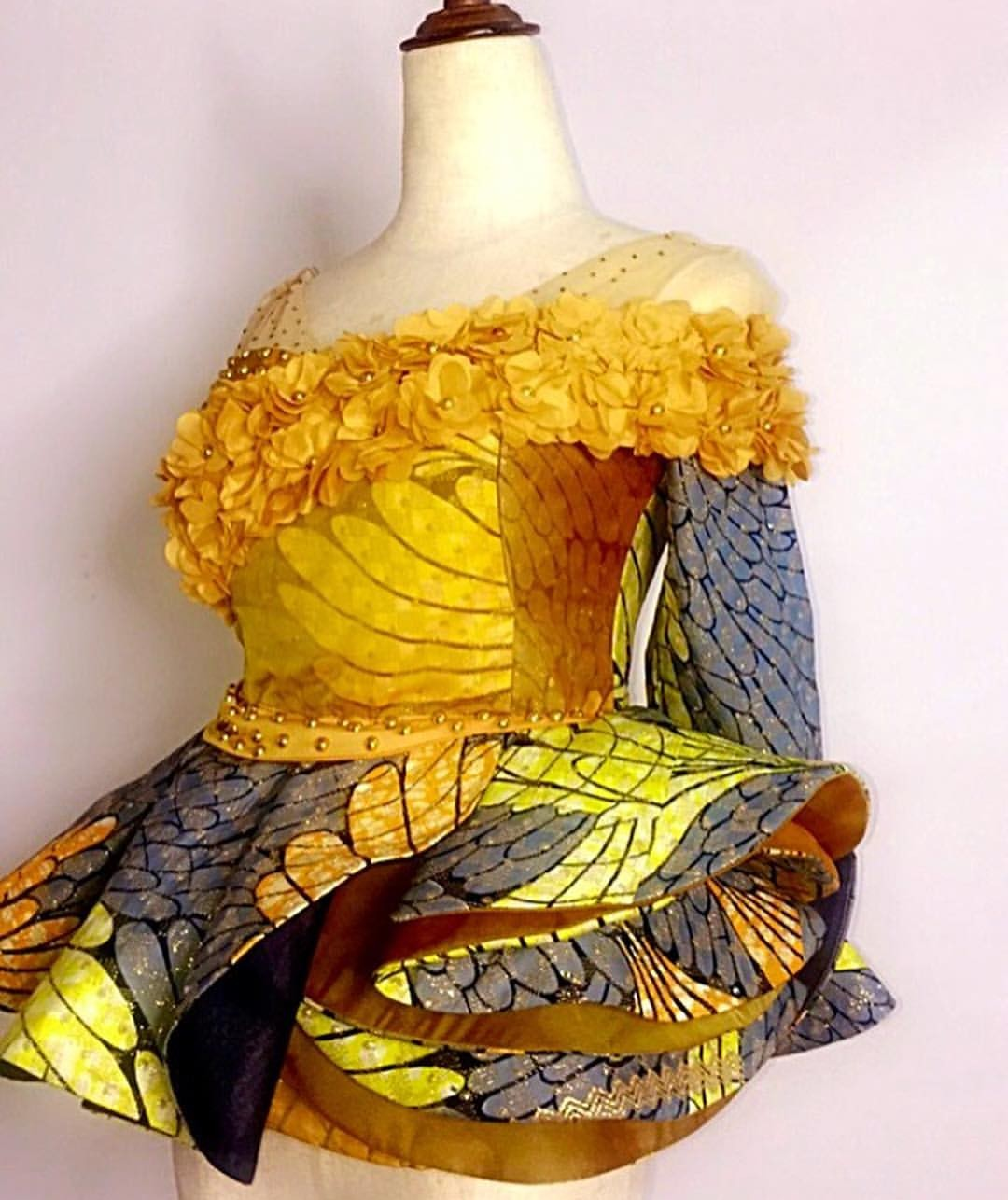 NEW 2020 PEPLUM ANKARA DESIGNS, WE ALL LOVE TO WEAR EVERY DAY! 3