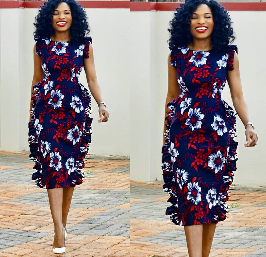 2020 CHIC ANKARA STYLES: GOWN STYLES FOR BEAUTIFUL LADIES! 2