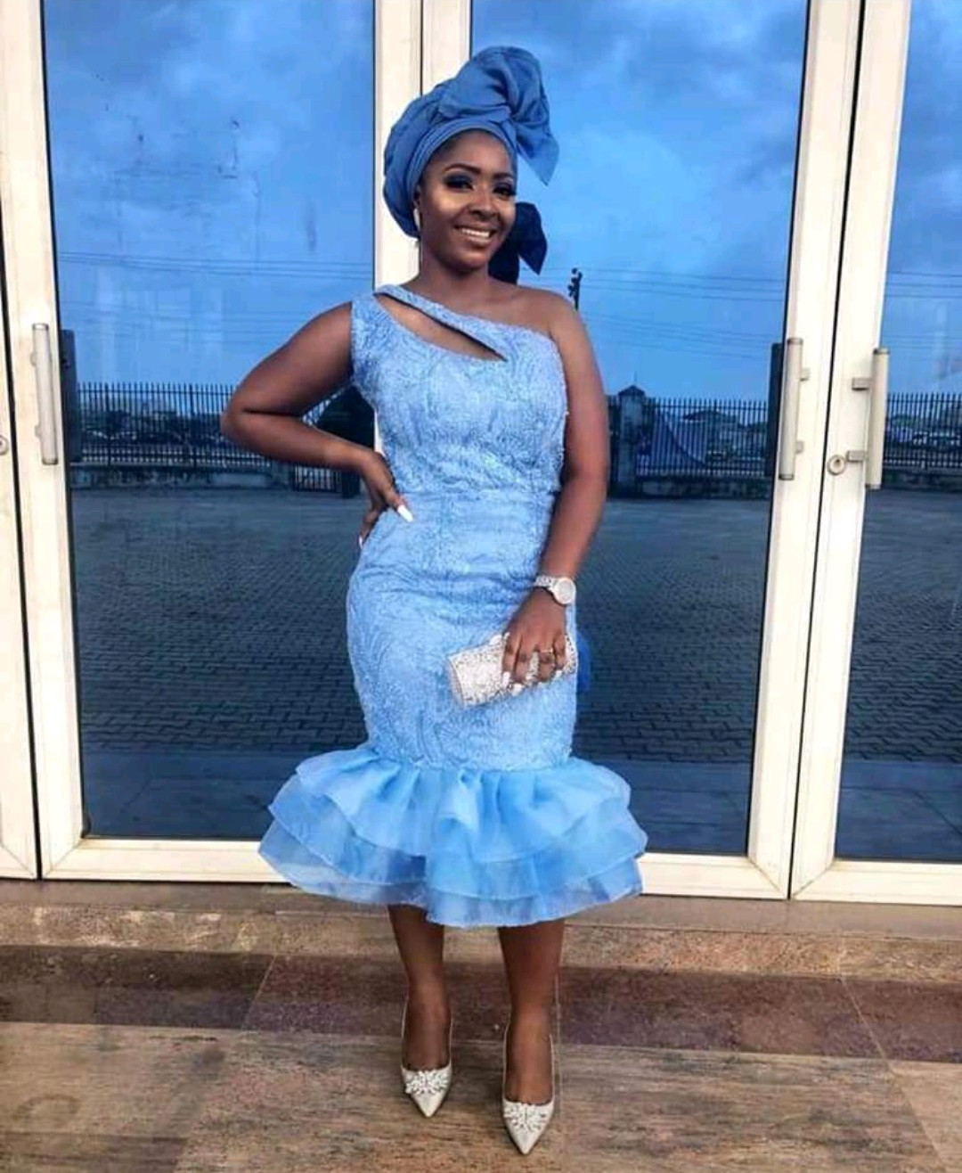 ADORABLE 2020 ASO EBI DRESS, WE ALL LOVE TO WEAR THIS MODERN FABRICS 1