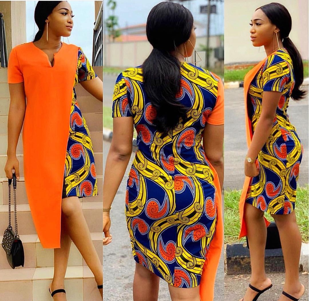 2020 CHIC ANKARA STYLES: GOWN STYLES FOR BEAUTIFUL LADIES! 4