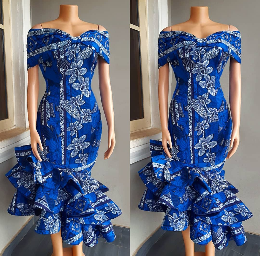 COLORFUL 2020 ANKARA MAXI DRESS TO COMPLETE YOUR ESPECIAL LOOK! 1