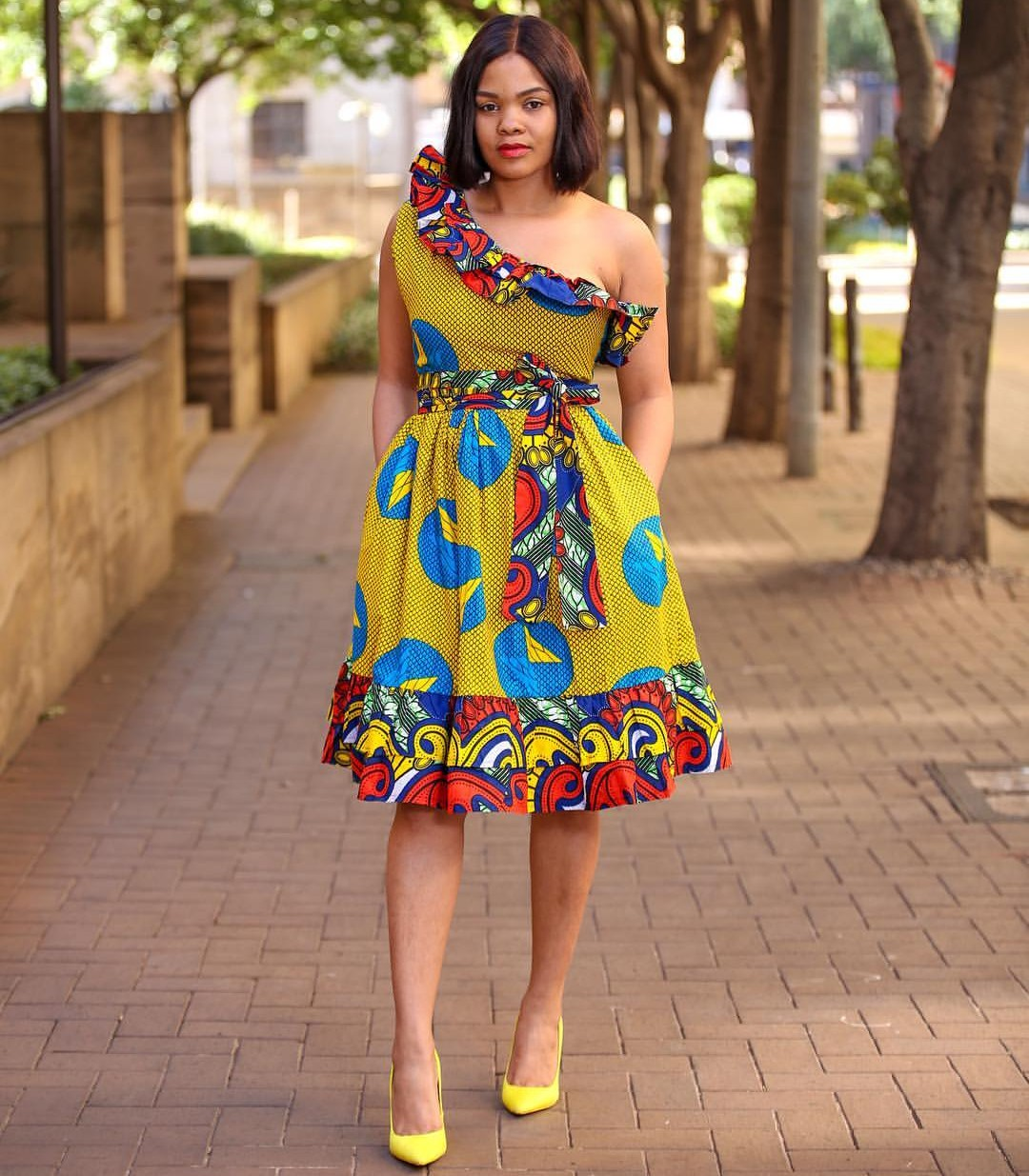 COLORFUL 2020 ANKARA MAXI DRESS TO COMPLETE YOUR ESPECIAL LOOK! 4