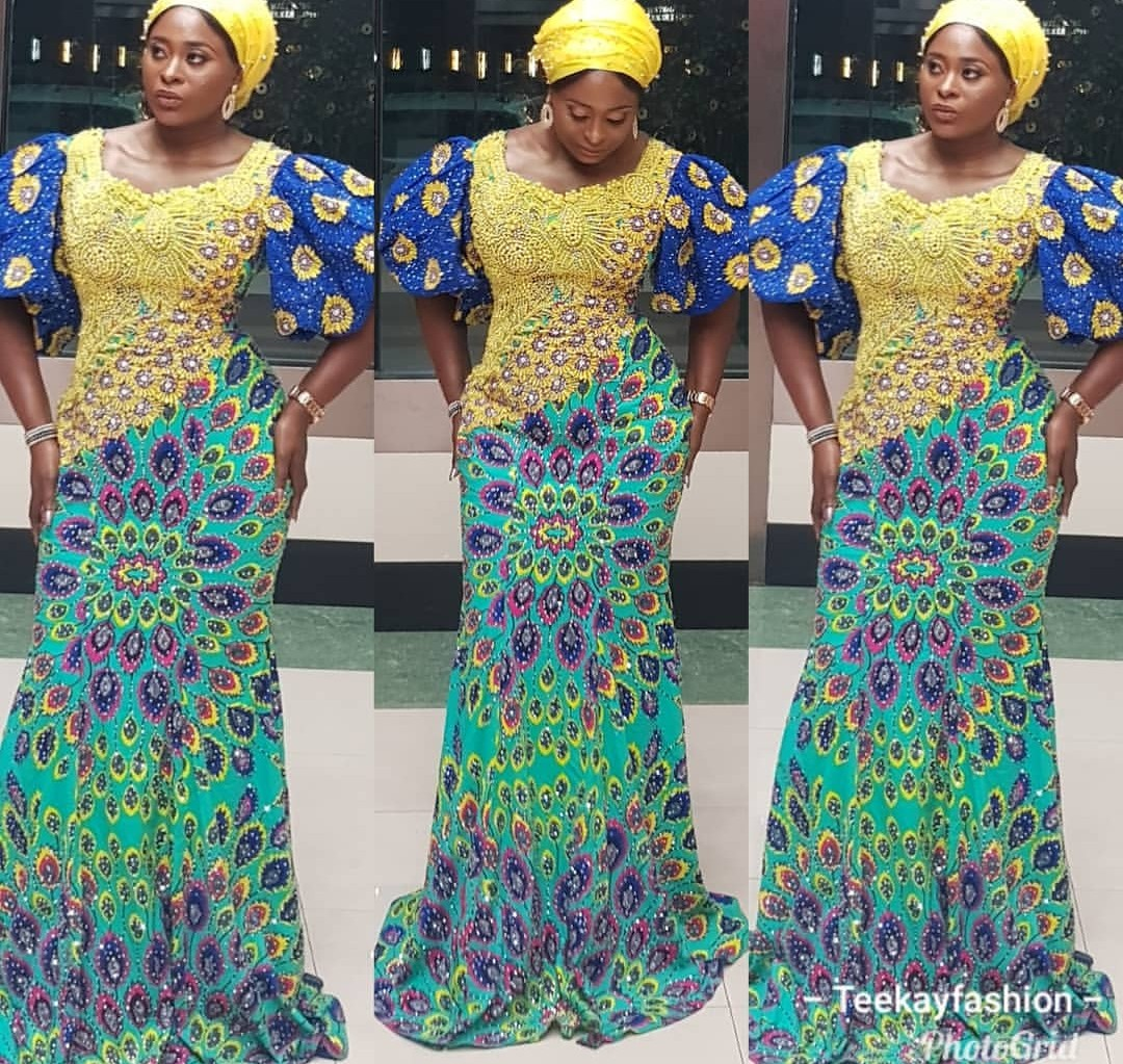 LATEST ANKARA 2020 GOWN STYLES, SUITABLE FOR YOUR DIFFERENT OCCASIONS! 4