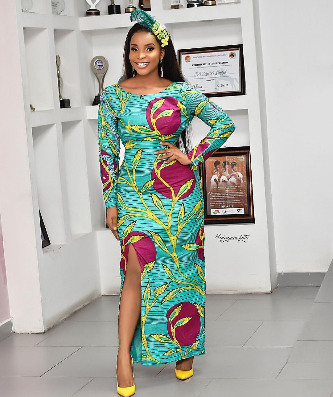 LATEST ANKARA 2020 GOWN STYLES, SUITABLE FOR YOUR DIFFERENT OCCASIONS! 2