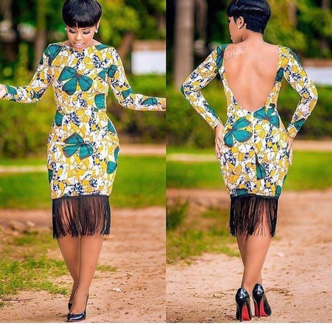ANKARA GOWN 2020 STYLES MAKES THE LADY SLIMMER AND TALLER! 3