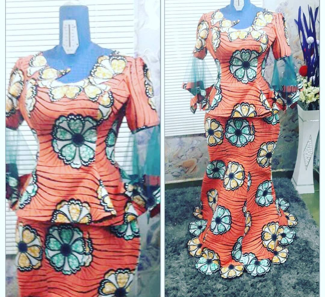 NIGERIAN FASHION 2020 LATEST FASHIONABLE DRESSES FOR YOU! 2