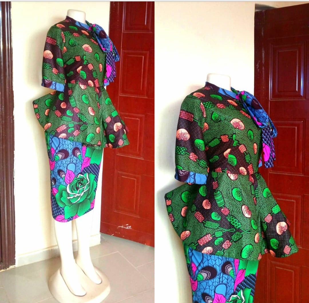 NIGERIAN FASHION 2020 LATEST FASHIONABLE DRESSES FOR YOU! 3