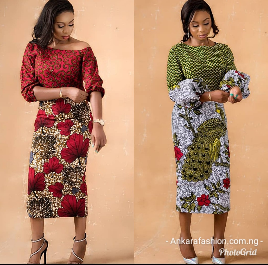 2020 CHIC ANKARA STYLES: GOWN STYLES FOR BEAUTIFUL LADIES! 5