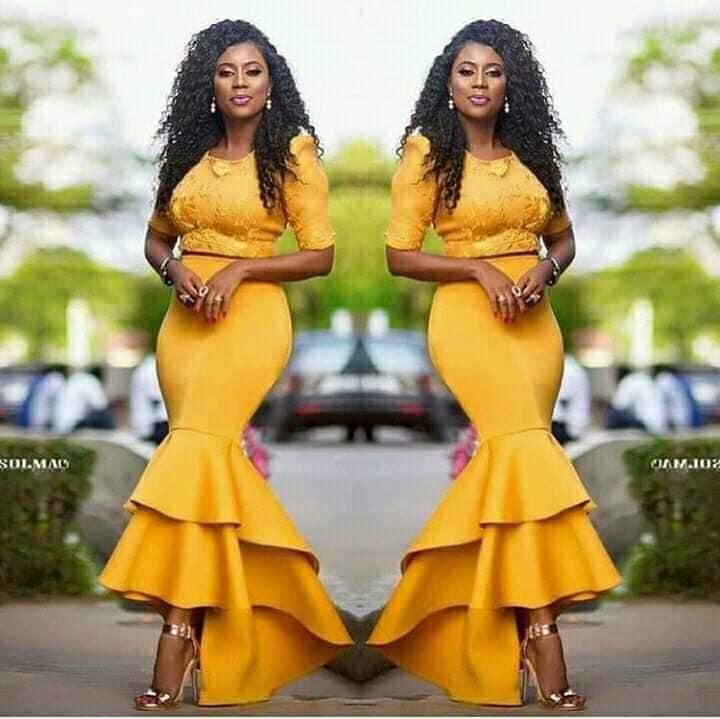 FRESH ANKARA WEDDING DRESS  2020 FASHIONABLE AND SIMPLE STYLES 4