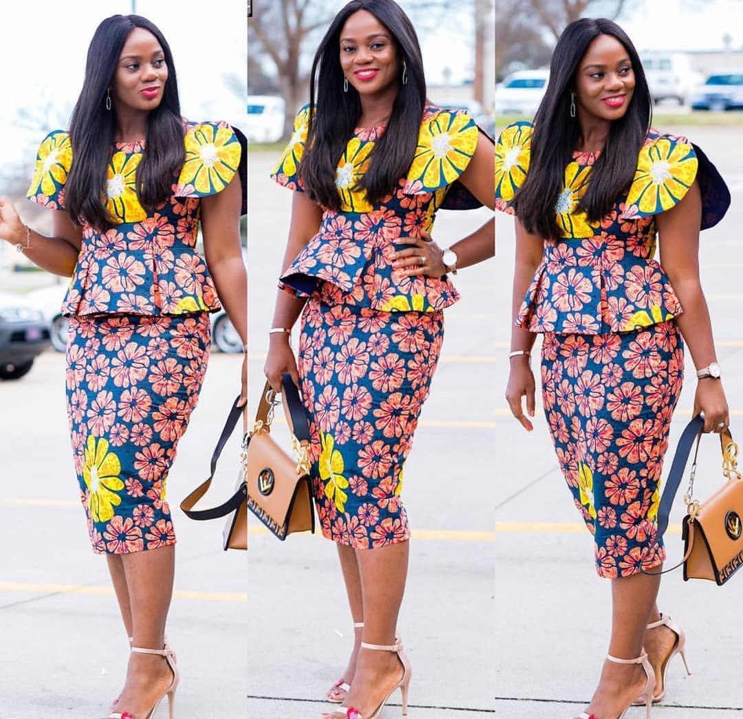 BEAUTIFUL ANKARA STYLE 2020 : STYLES FOR BEAUTIFUL AND CLASSY LADY 3