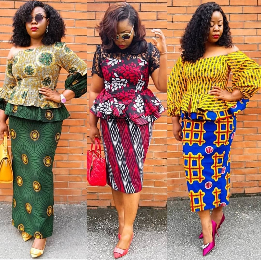 PRETTY ANKARA STYLES 2020 FOR BEAUTIFUL LADY LOOK FOR NEW MODELS... 1