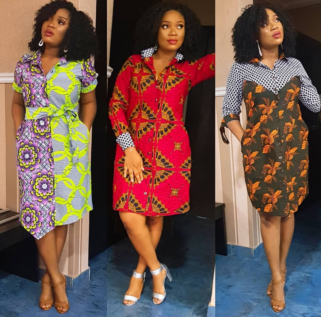 PRETTY ANKARA STYLES 2020 FOR BEAUTIFUL LADY LOOK FOR NEW MODELS... 2