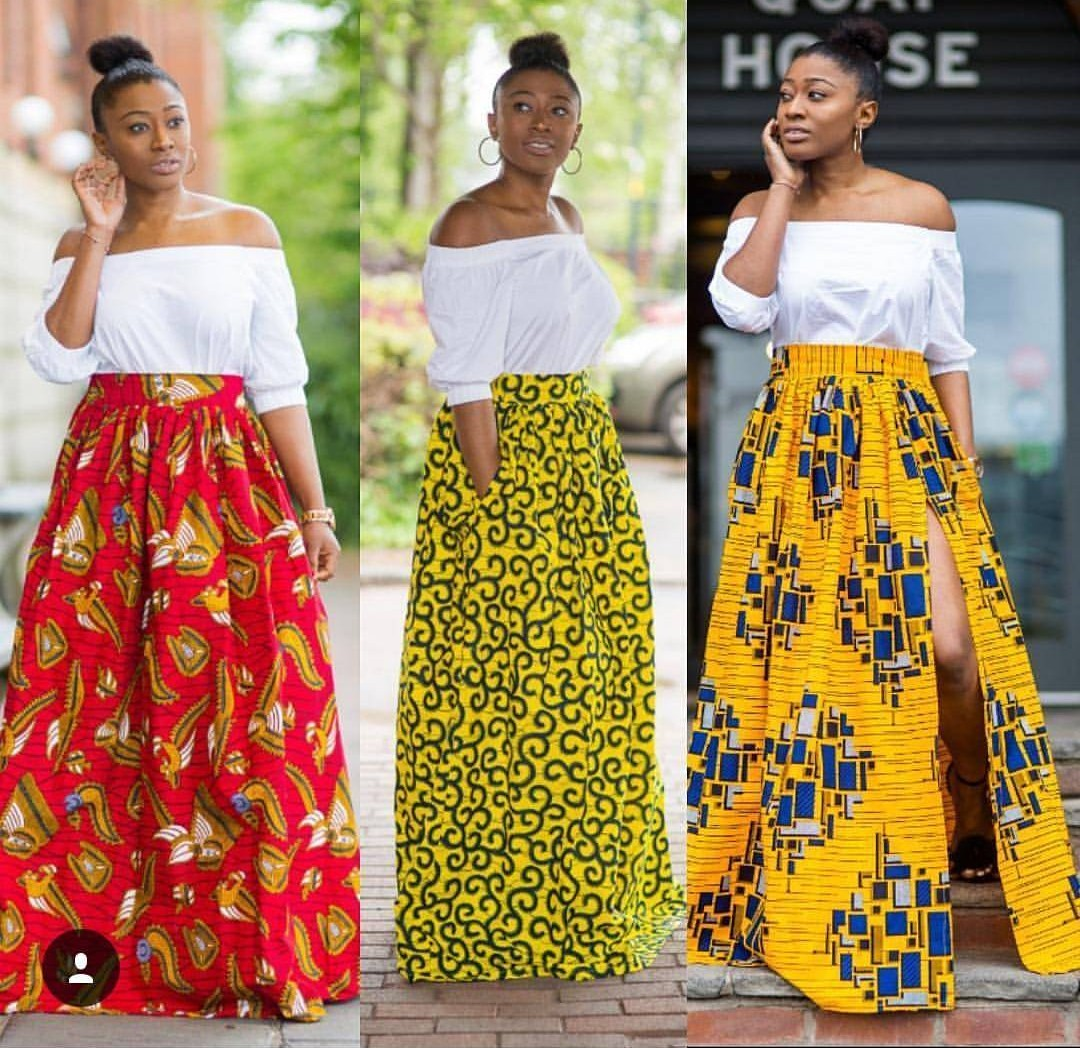 PRETTY ANKARA STYLES 2020 FOR BEAUTIFUL LADY LOOK FOR NEW MODELS... 3