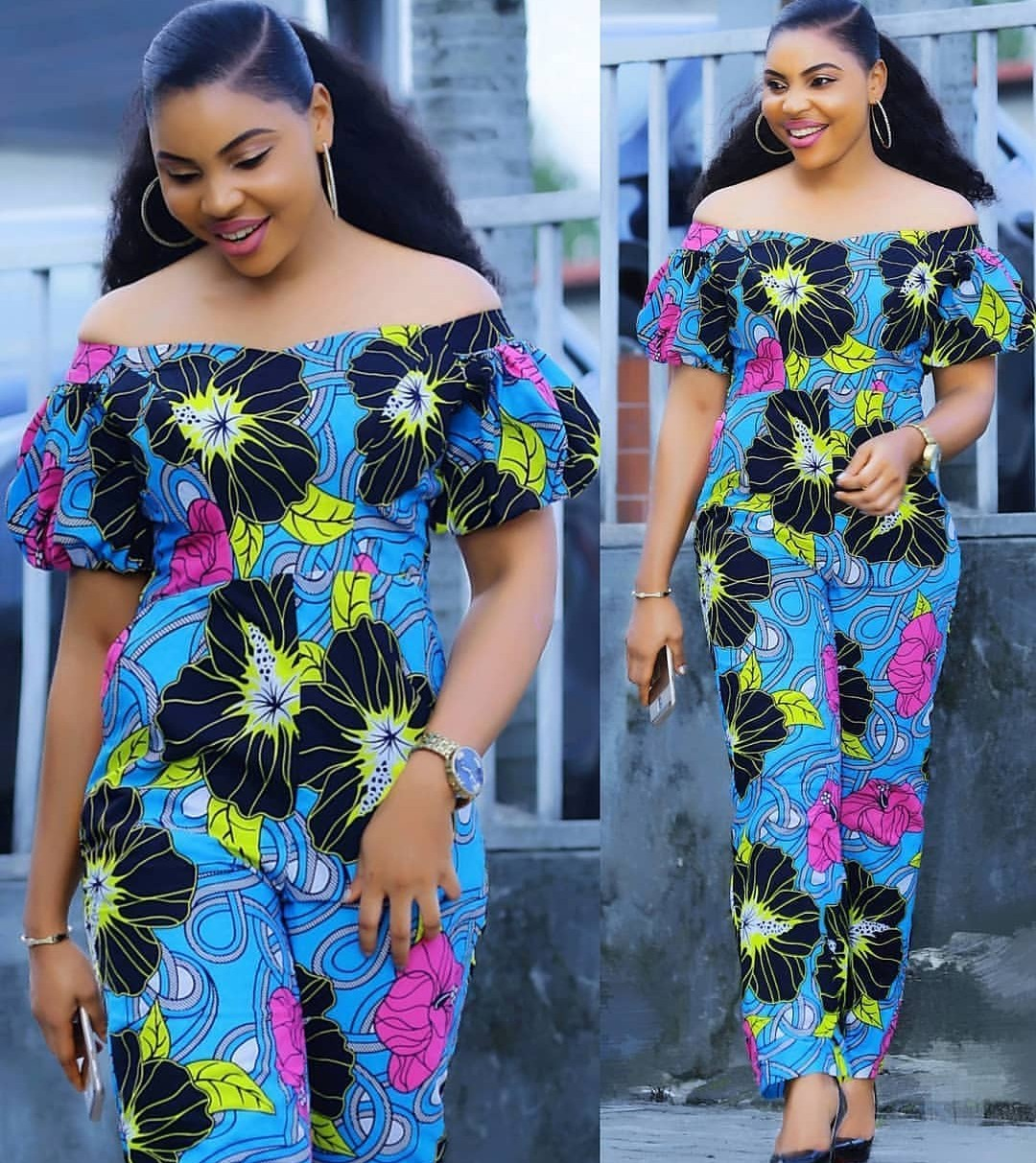 PRETTY ANKARA STYLES 2020 FOR BEAUTIFUL LADY LOOK FOR NEW MODELS... 5