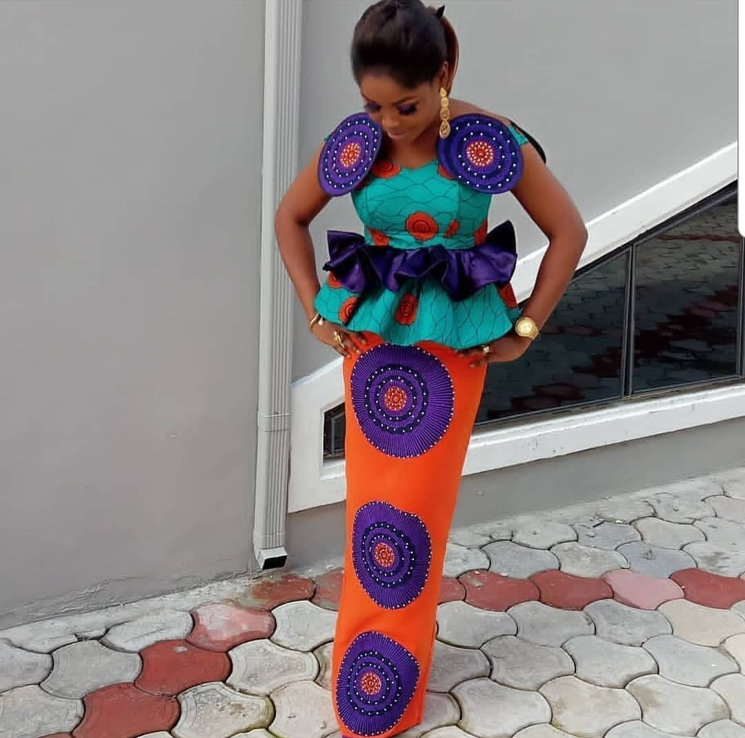 2020 DESIGNS FOR WEDDING , AMAZING ANKARA PERFECT DRESSES FOR PARTIES 5