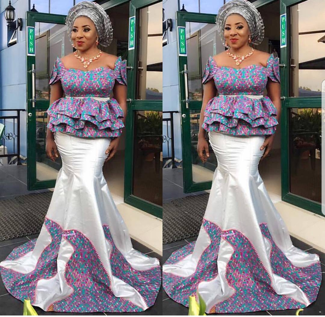 2020 DESIGNS FOR WEDDING , AMAZING ANKARA PERFECT DRESSES FOR PARTIES 3