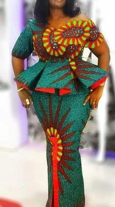 NIGERIAN WOMEN 2020 MAXI PRINT DRESSES FOR AFRICAN LADIES 3