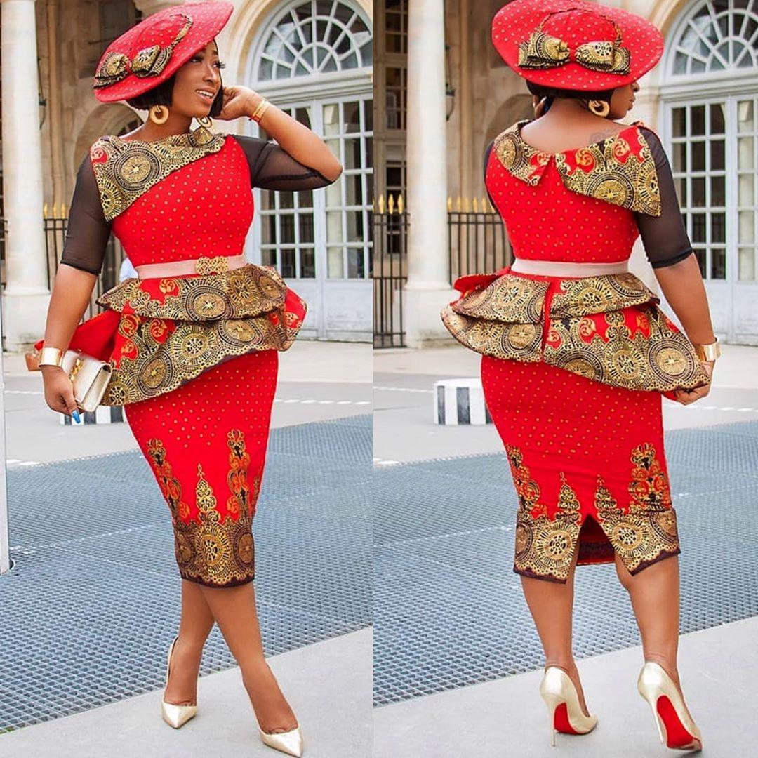 NIGERIAN WOMEN 2020 MAXI PRINT DRESSES FOR AFRICAN LADIES 2