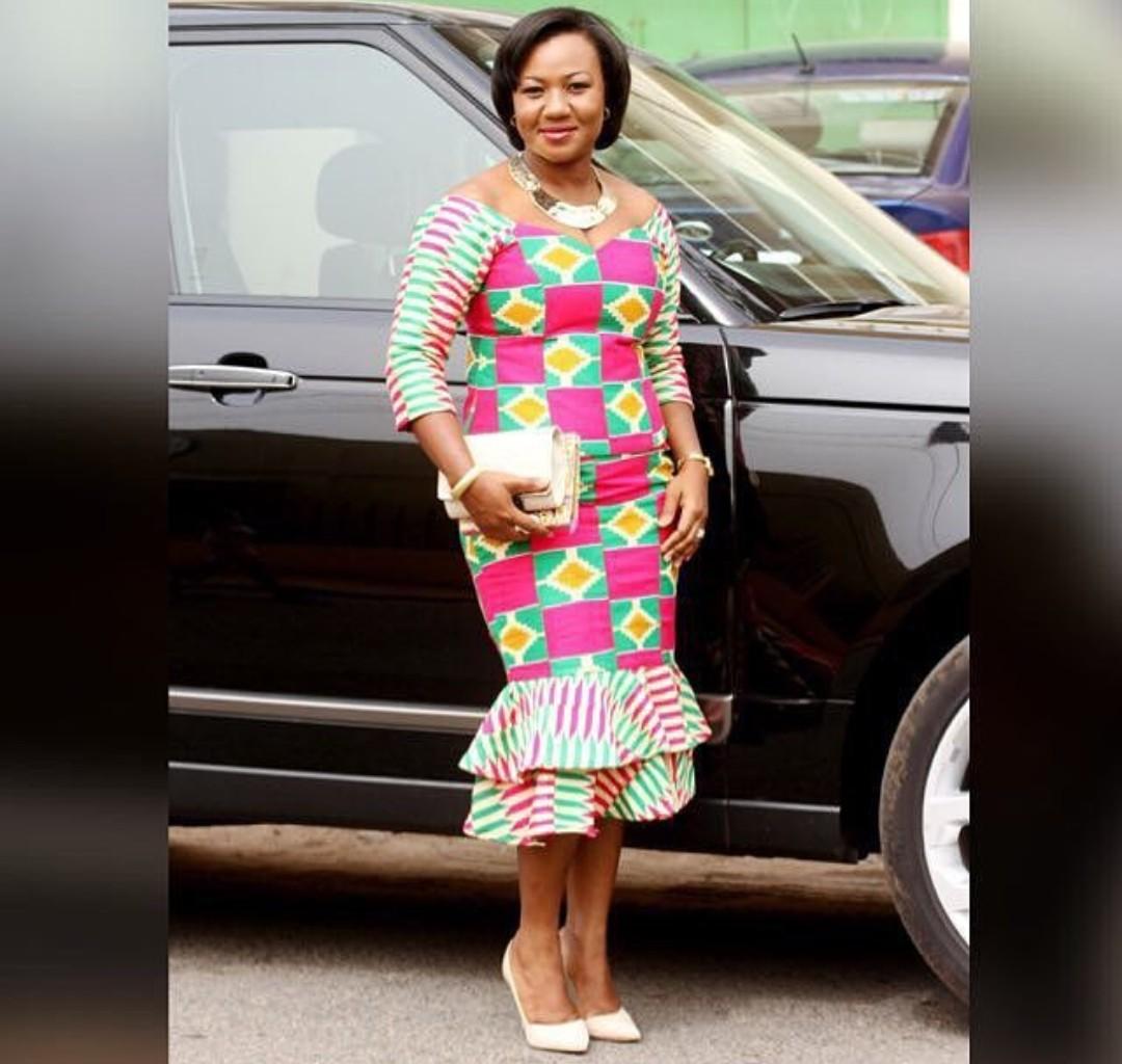 KITENGE FASHIONS, DRESSES THAT EVERY LADY LOVE 10