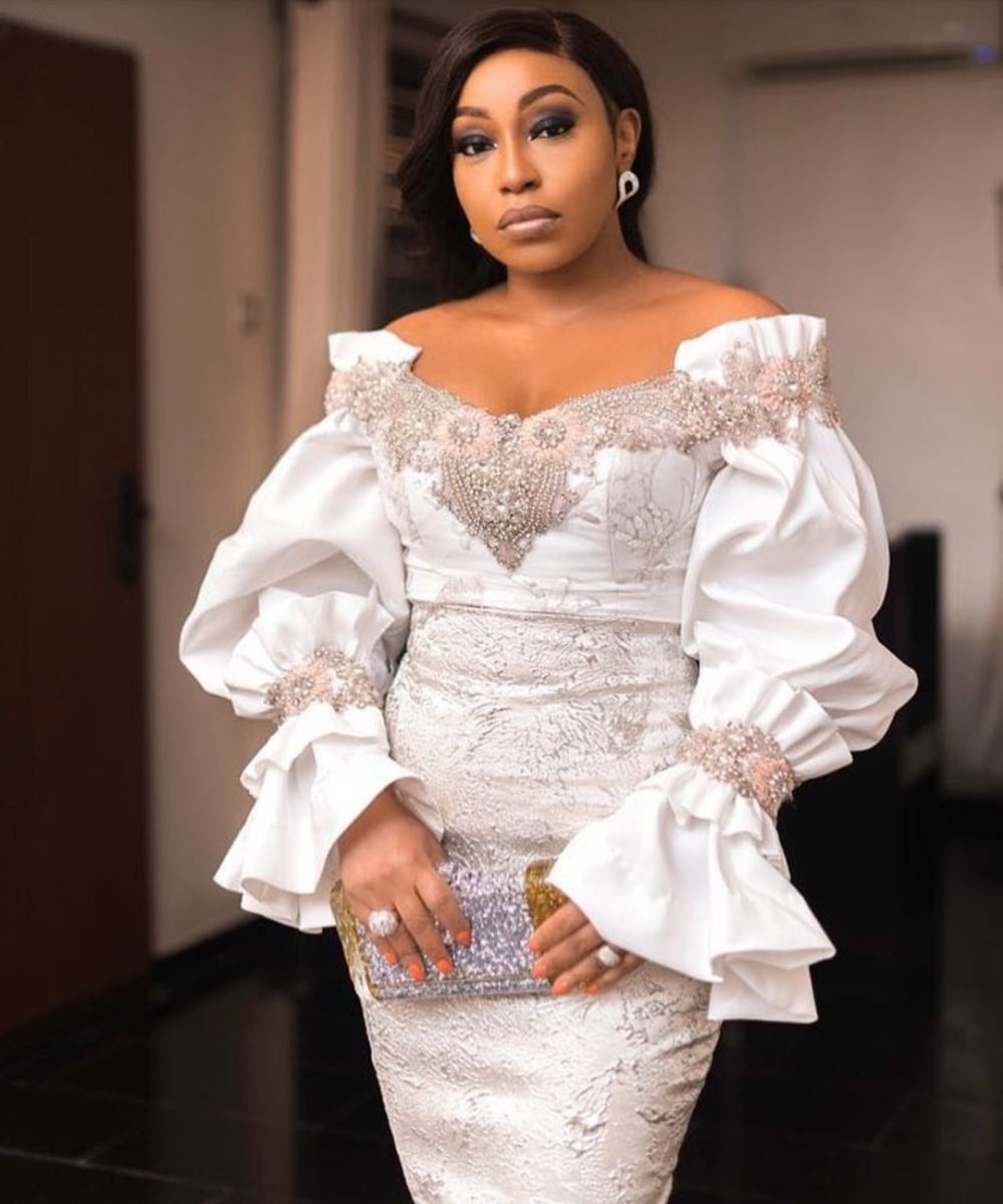 EVENING SEXY DRESSES- ASO-EBI STYLES 2020 WITH ATTRACTIVE FABRICS 3