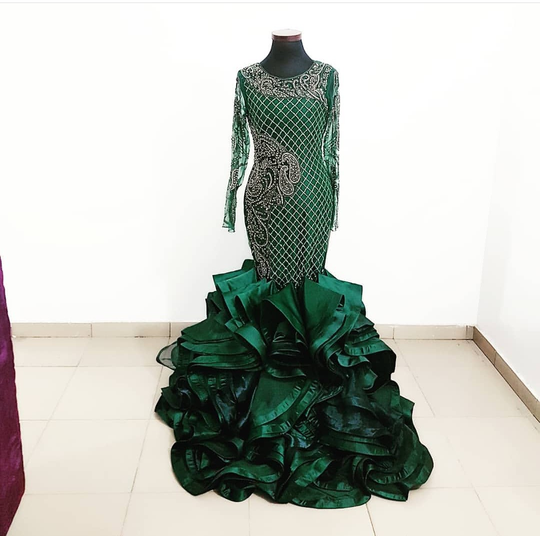 EVENING SEXY DRESSES- ASO-EBI STYLES 2020 WITH ATTRACTIVE FABRICS 5