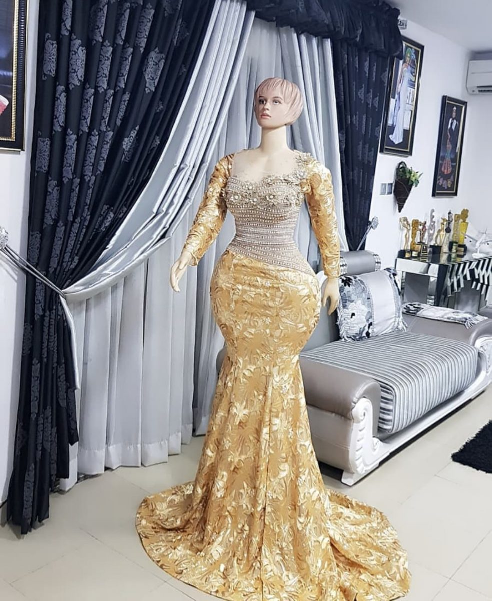 HOT ASO EBI STYLES 2020 FOR LADIES, BEAUTIFUL FOR SPECIAL OCCASION... 3