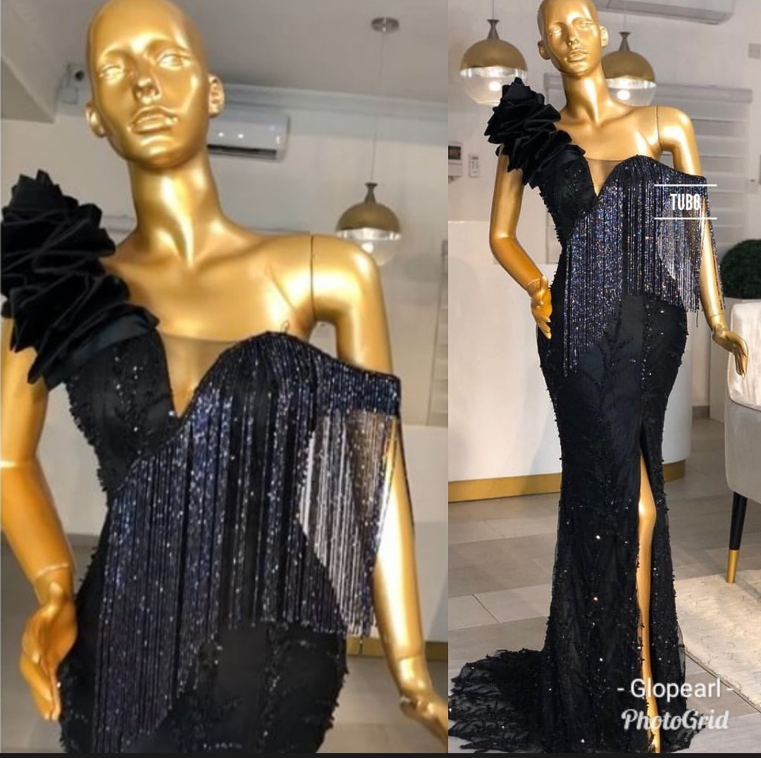 2020 DESIGNS- LATEST NIGERIAN ASO-EBI STYLE DRESS FOR LADIES!!! 2