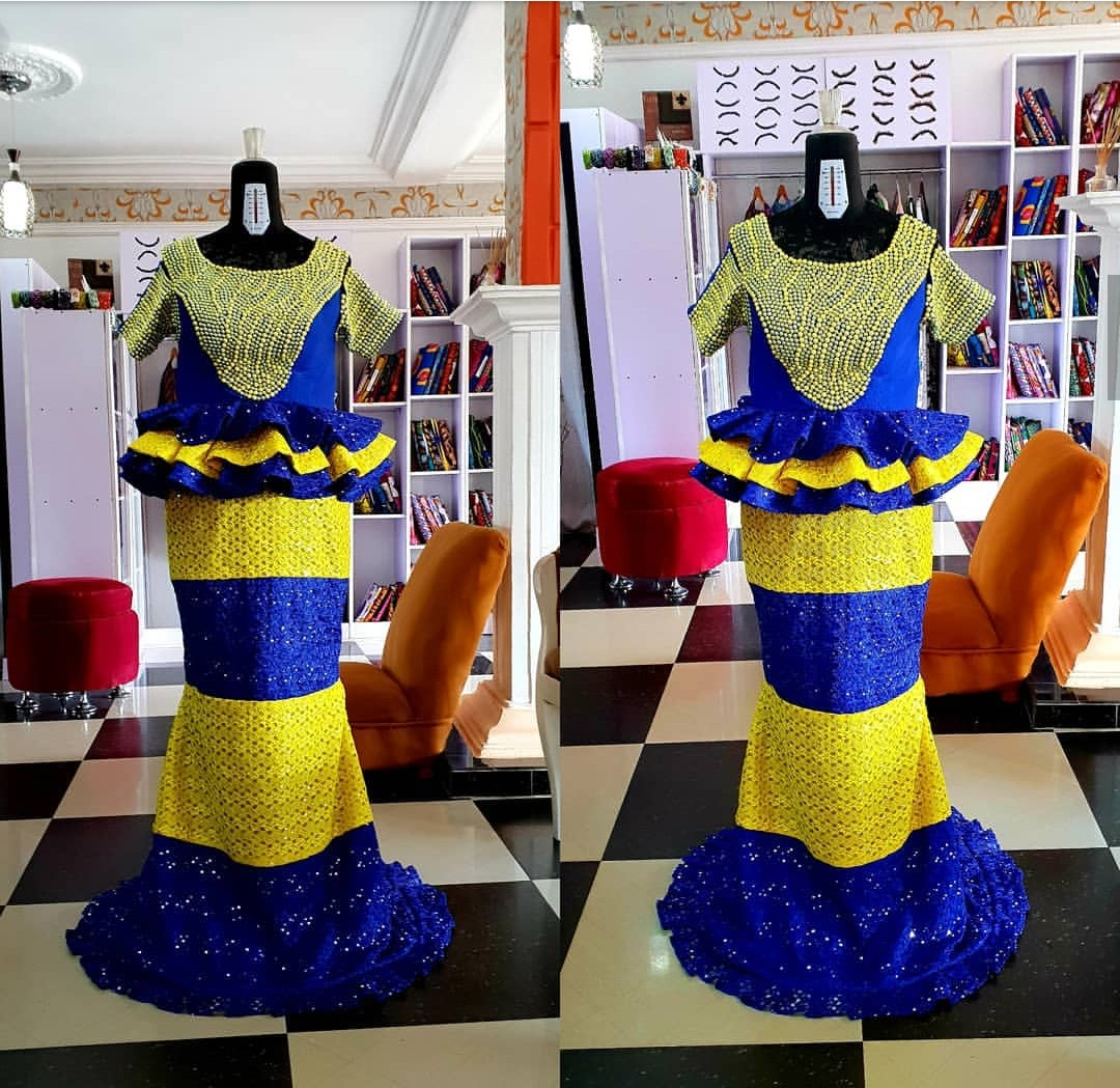 NIGERIAN WOMEN 2020 MAXI PRINT DRESSES FOR AFRICAN LADIES 7