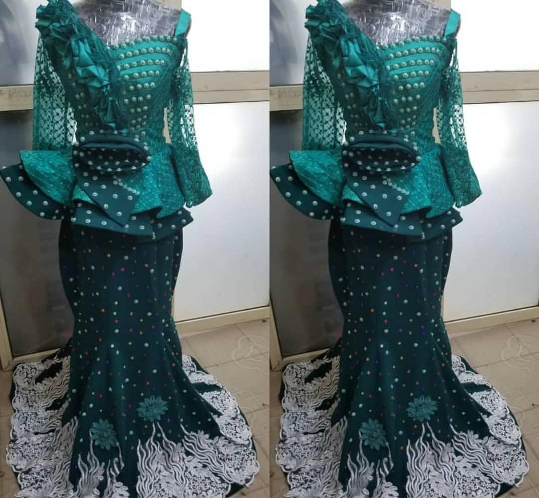 NIGERIAN WOMEN 2020 MAXI PRINT DRESSES FOR AFRICAN LADIES 9
