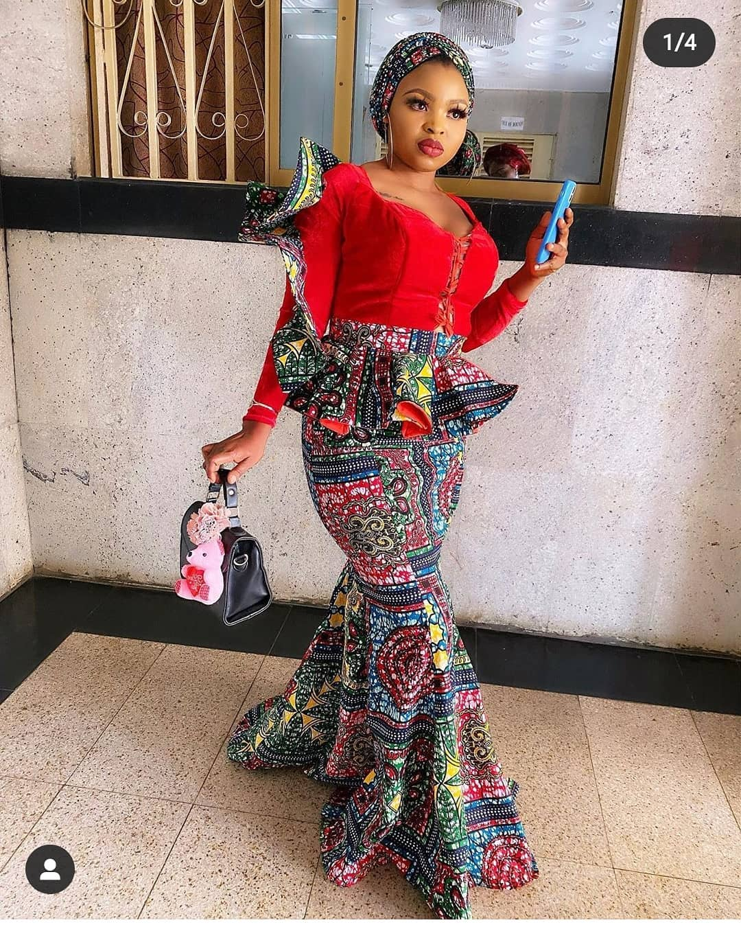 +10 TOP ANKARA PRINT DRESSES: BEAUTIFUL ANKARA FABRICS... 1