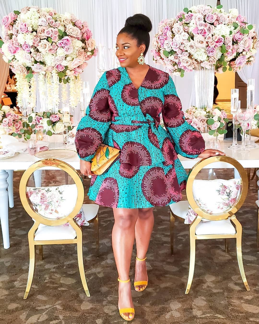 TRENDY DRESSES,ANKARA GOWNS STYLES 2020 FOR LADIES. 4