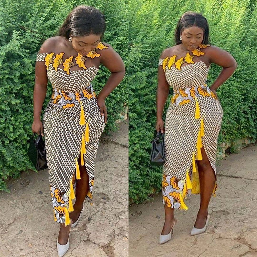 TRENDY COLLECTION 2020 GOWNS STYLES FOR YOUR NEXT OWAMBE PARTIES. 4