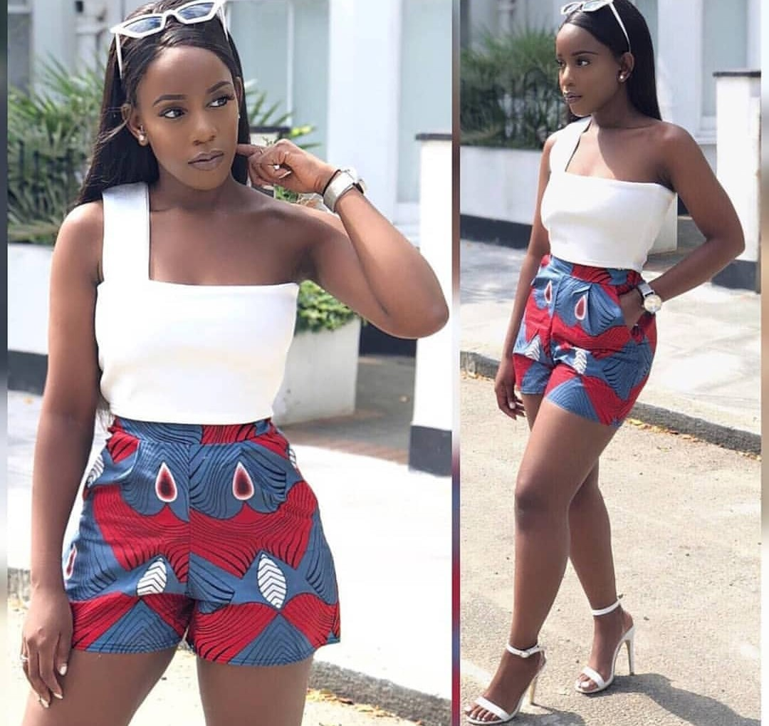 2020 SEXY AFRICAN SHORTS, BEAUTIFUL SHORTS WITH AFRICAN FABRICS... 8