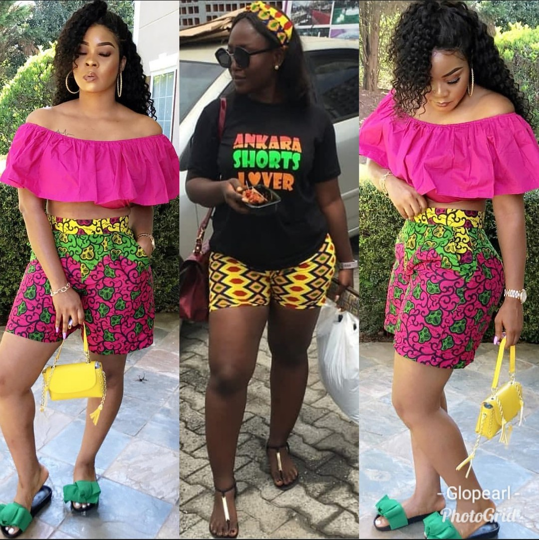 2020 SEXY AFRICAN SHORTS, BEAUTIFUL SHORTS WITH AFRICAN FABRICS... 7