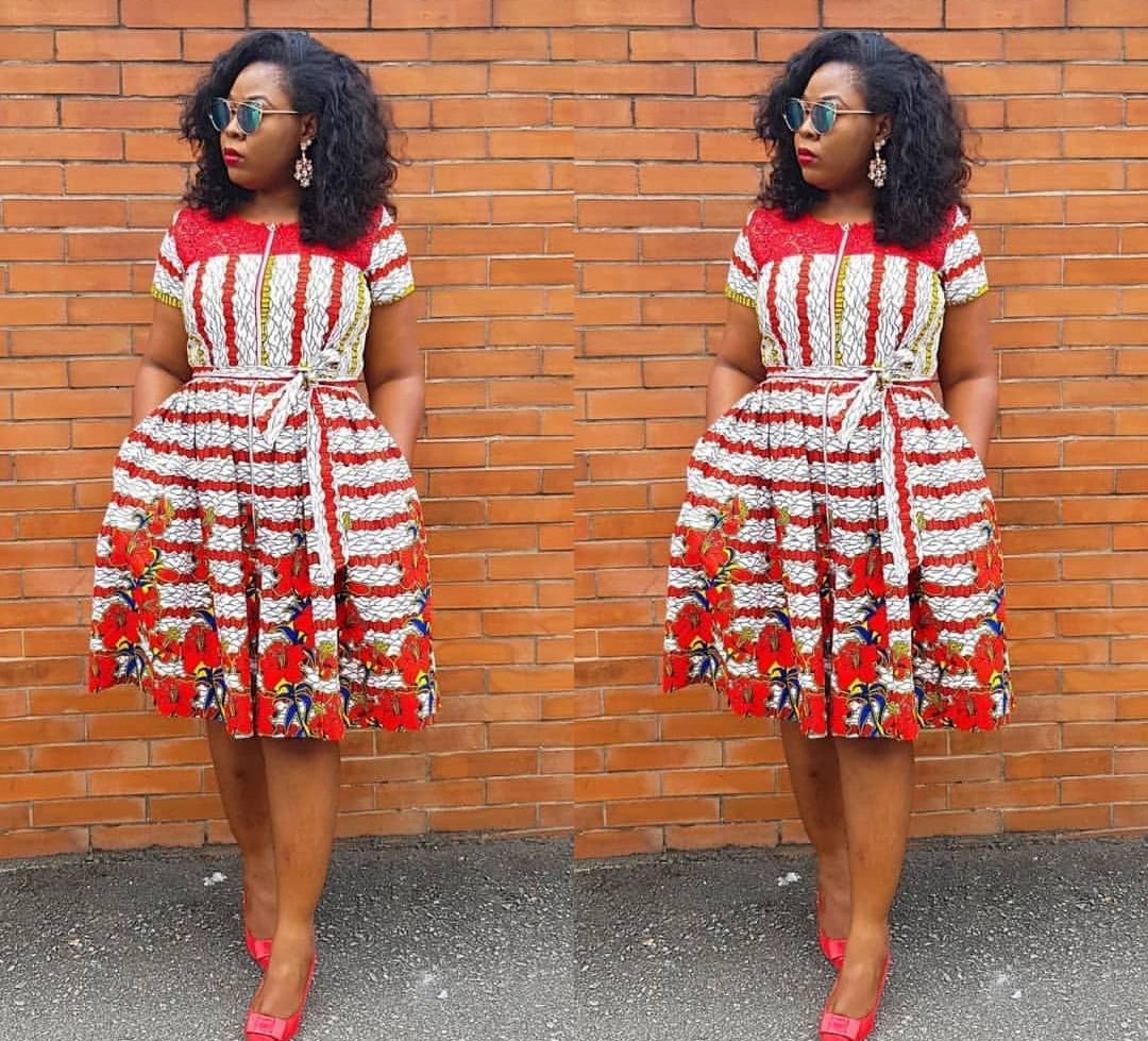 +10 TOP ANKARA PRINT DRESSES: BEAUTIFUL ANKARA FABRICS... 9