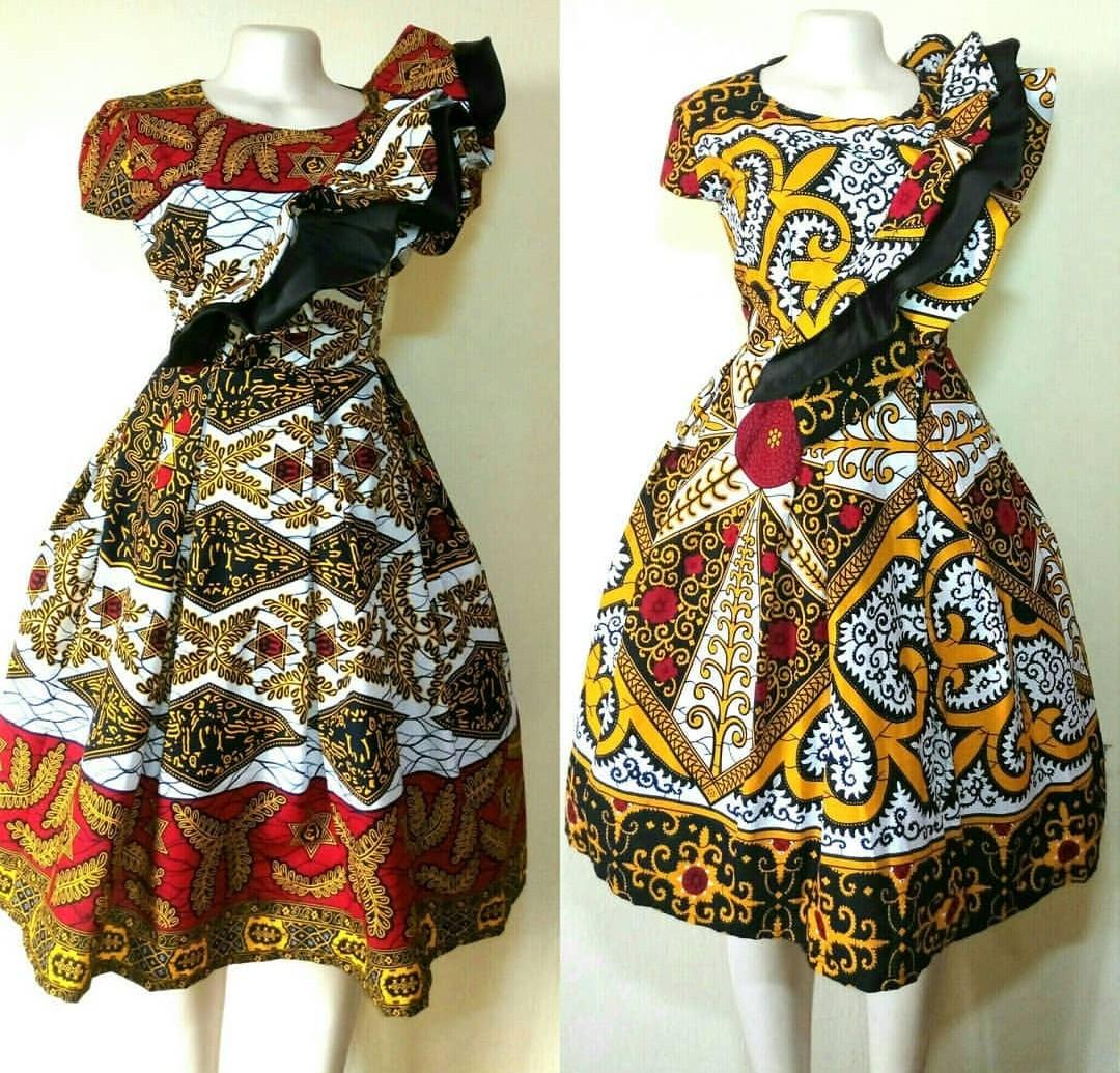 TOP ANKARA PRINT DRESSES