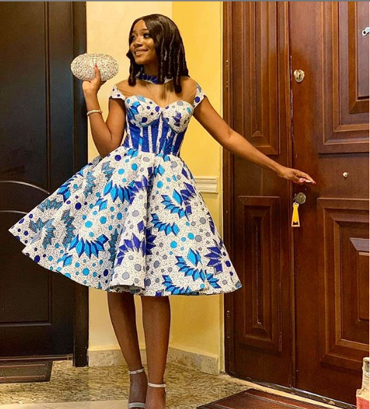 TRENDY DRESSES,ANKARA GOWNS STYLES 2020 FOR LADIES. 8