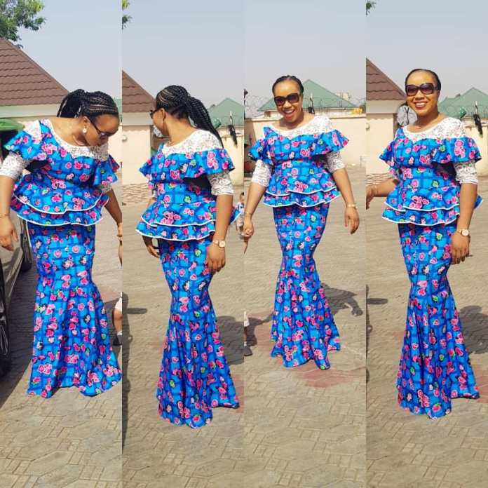 TRENDY COLLECTION 2020 GOWNS STYLES FOR YOUR NEXT OWAMBE PARTIES. 7