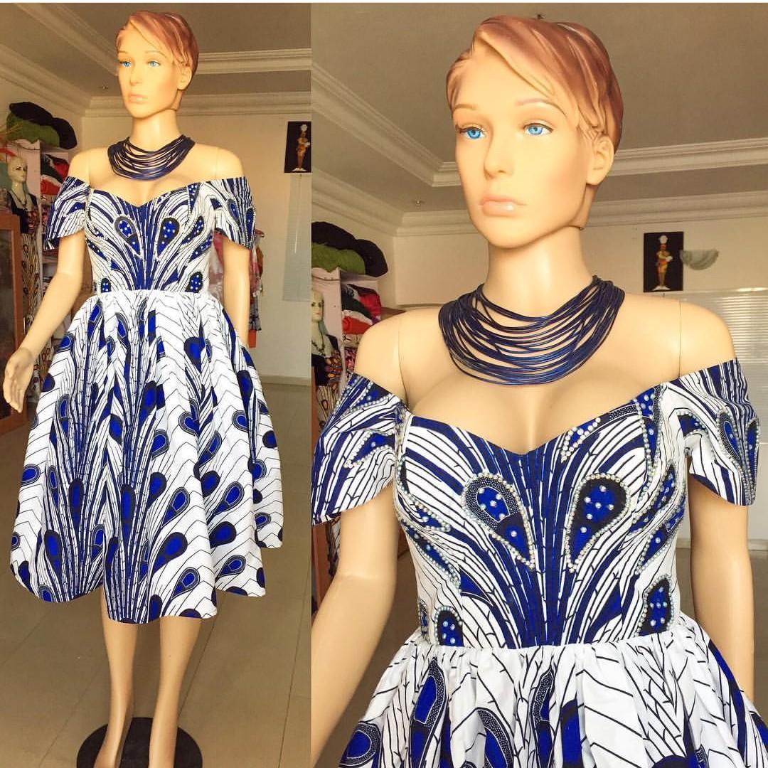 +10 TOP ANKARA PRINT DRESSES: BEAUTIFUL ANKARA FABRICS... 5