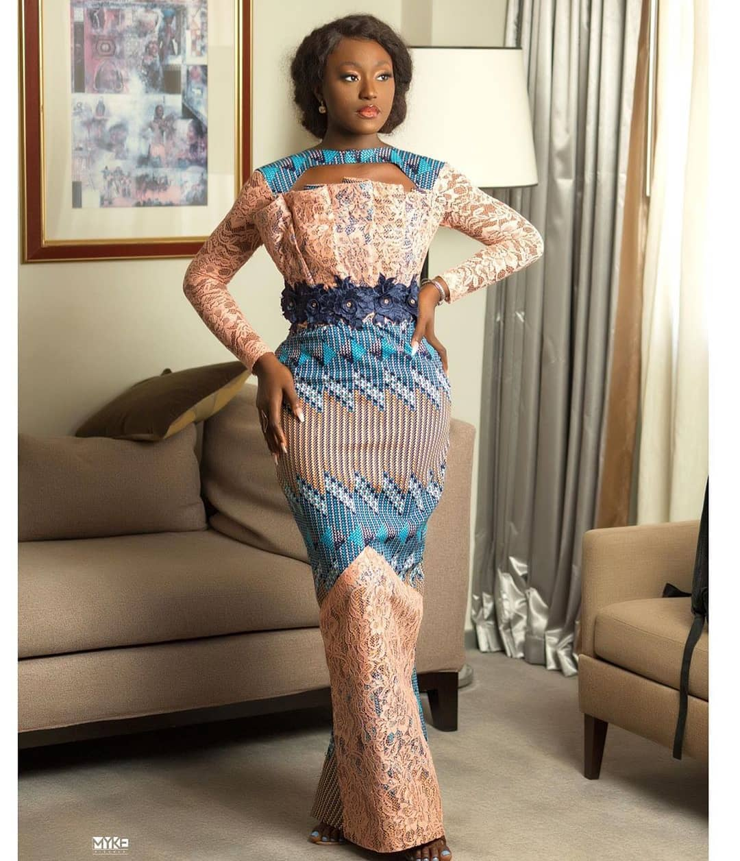 NEW FASHION STYLE, TRENDY AFRICAN DRESSES STYLES LOOKS NICE 2